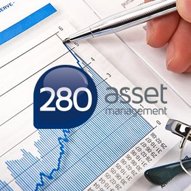 logotipo assessoria financeira 280 asset management