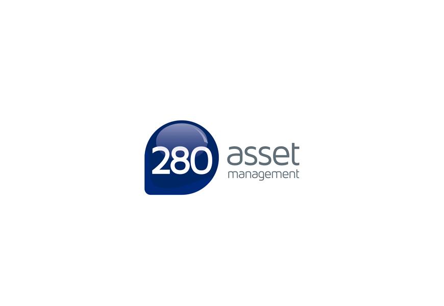Logotipo escritório de assessoria financeira 280 Asset Management de São Paulo