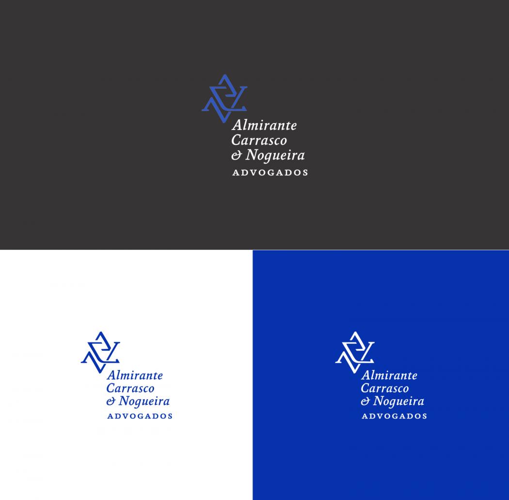logotipo para advogados versões positivas e negativas