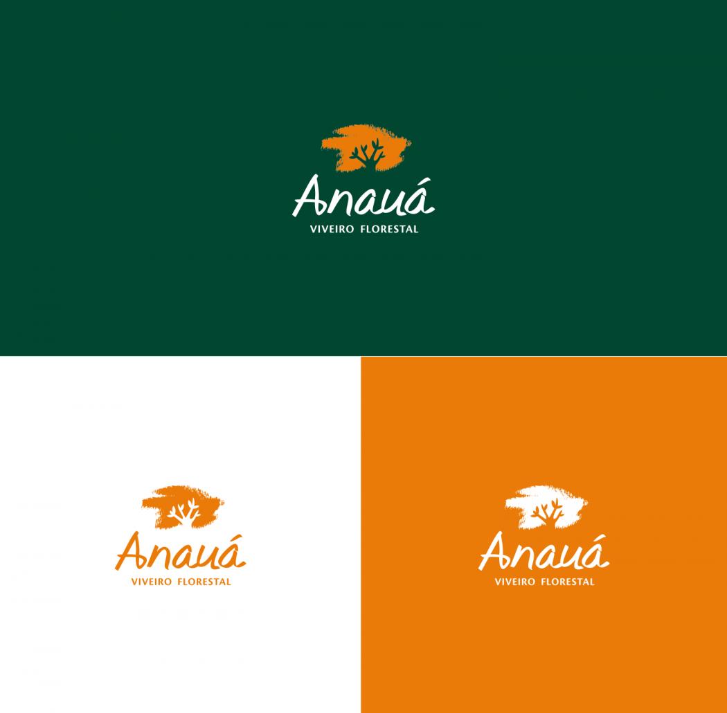 logotipo anauá versões