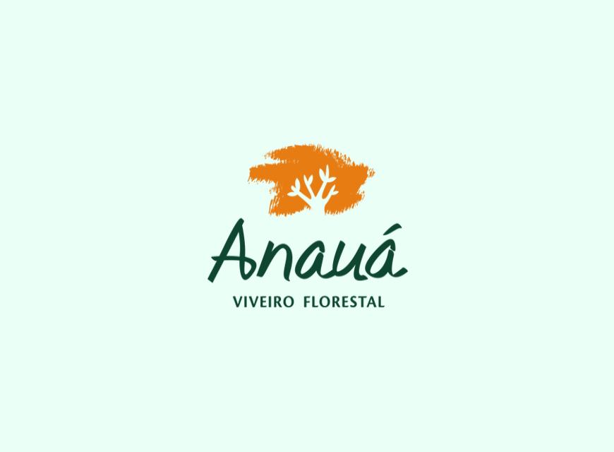 logotipo anauá viveiro florestal