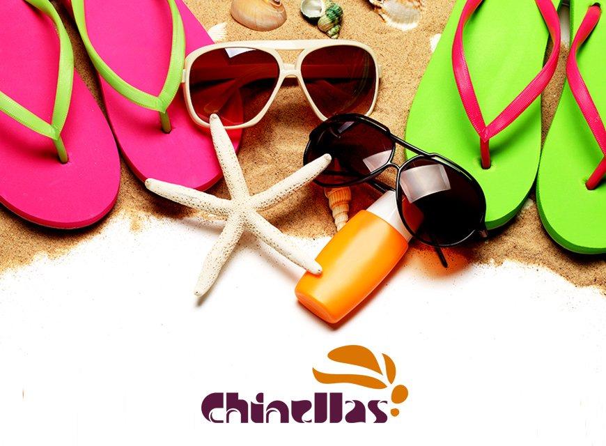 imagem conceitual logotipo chinelas