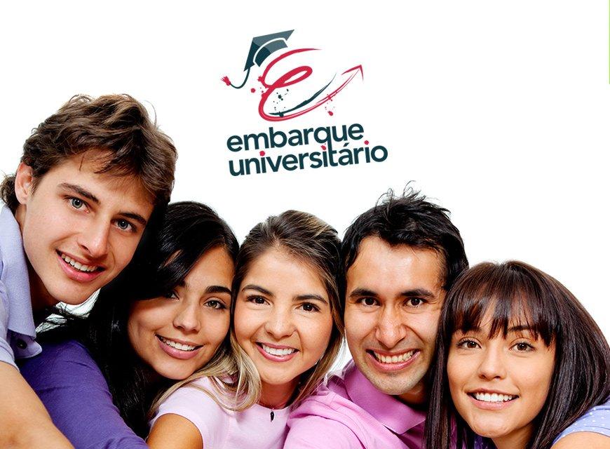 logotipo agencia de intercambio imagem conceitual