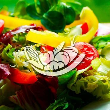 logotipo para restaurante saudável