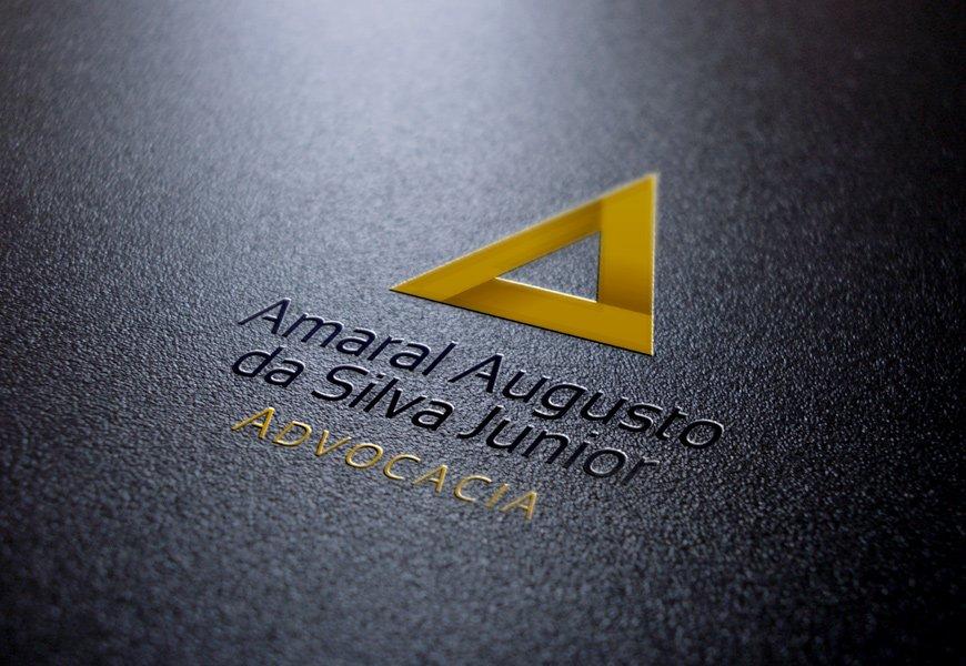 Logotipo e identidade visual para advogado em Cuiabá, Mato Grosso