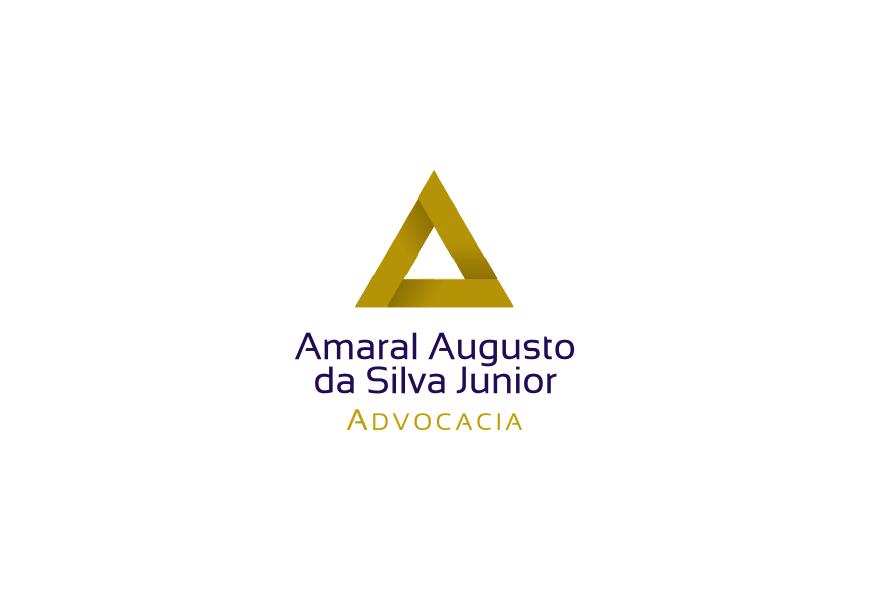 Projeto para criação de logotipo e identidade visual para advogado Amaral Augusto da Silva no Mato Grosso