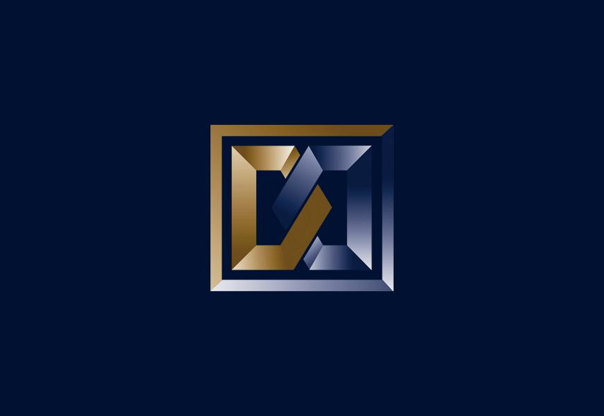 simbolo, monograma, marca para empresa de investimento