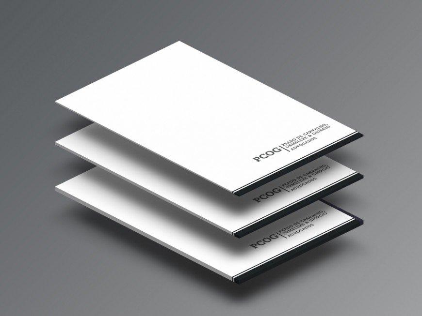 Criação de papelaria para advogado, projeto para identidade visual de advogados