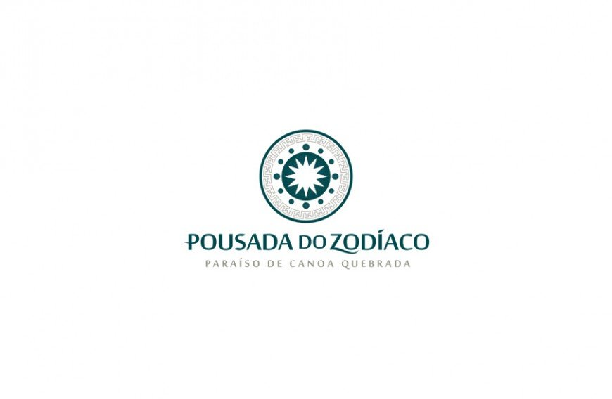 logotipo versão principal pousada do zodíaco
