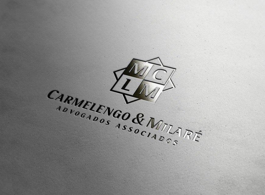 logotipo advogado carmelengo milare