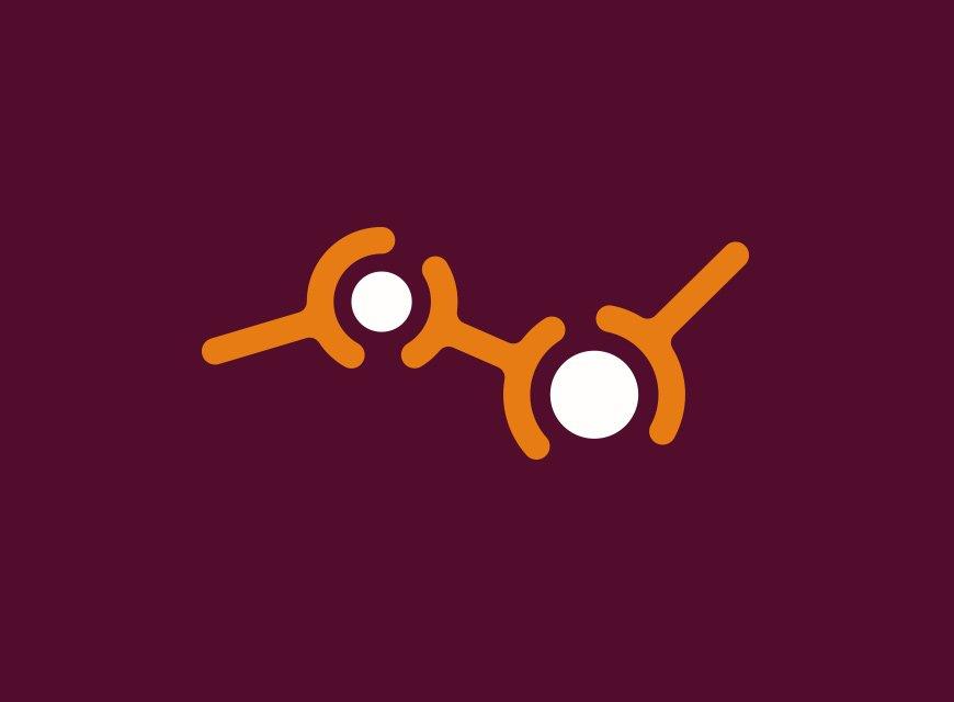 símbolo logotipo para clinica médica