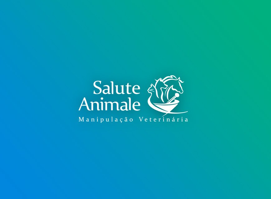 criação de logotipo farmácia de manipulação animal