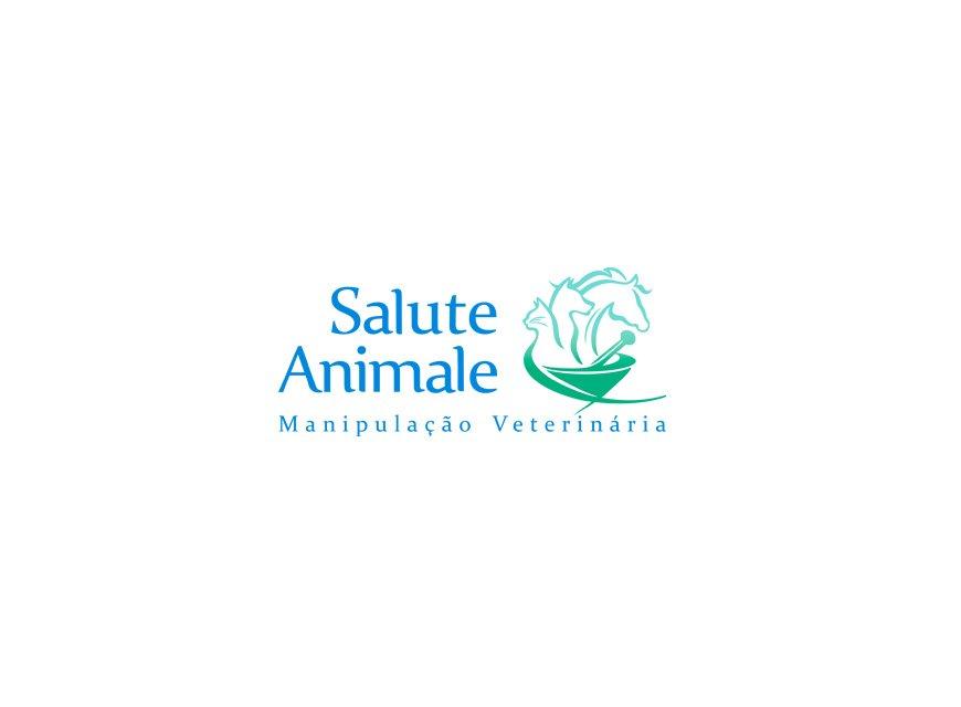 logotipo farmacia de manipulação veterinária