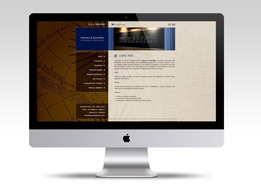 criação de web site para advogados