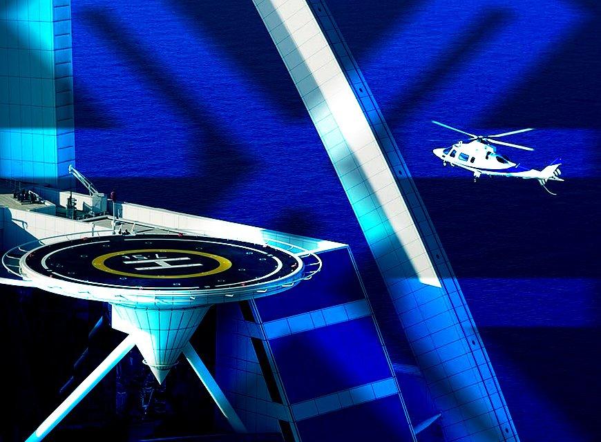 logotipo helipar imagem conceitual da marca