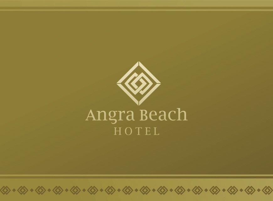 Criação de Logotipo e Identidade Visual para Hotel Angra Beach no Rio de Janeiro