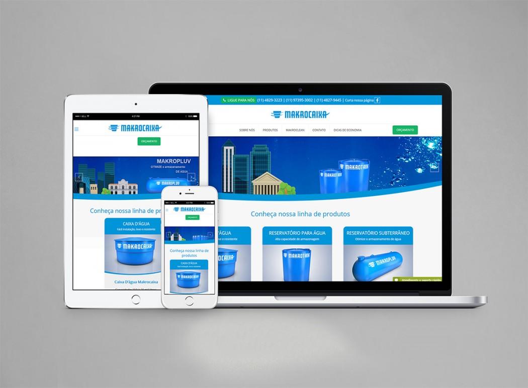 criação web site responsivo makrocaixa