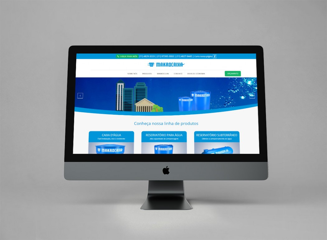 criação de web site para empresas e industrias