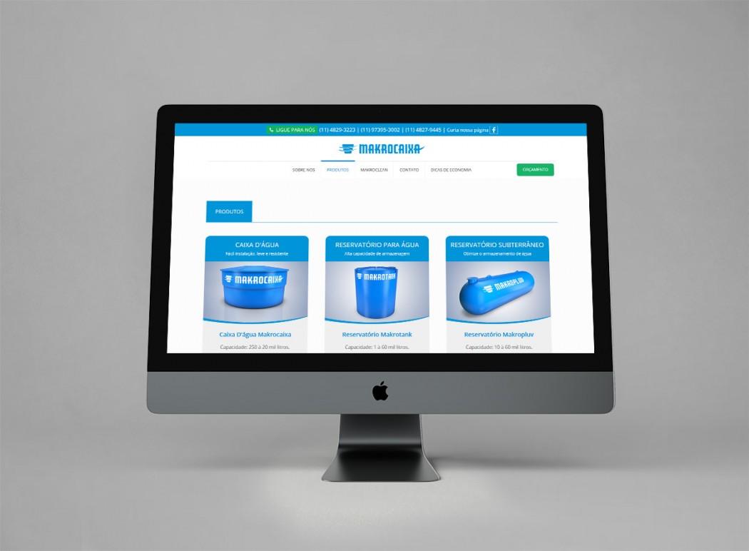 criação de sites modernos para industrias