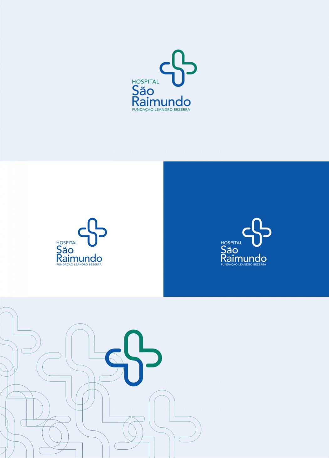 versões do logotipo para hospital são raimundo