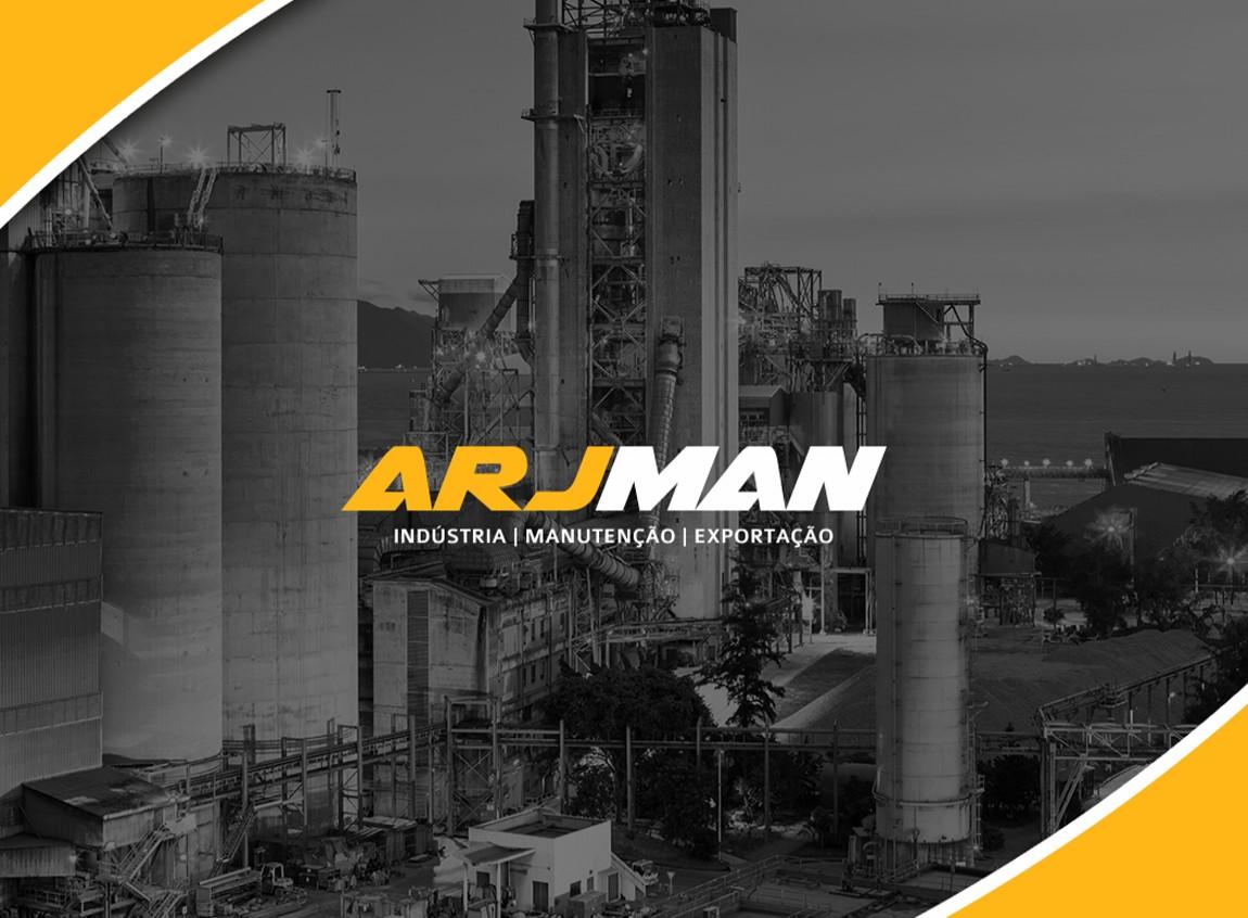 Arjman Indústria - Criação de Logotipo, Identidade Visual, Manual da Marca, Criação de Catálogos e Criação do Web Site Responsivo